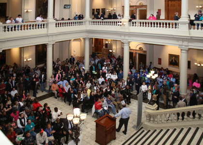 Celebrating Recovery at the Capitol