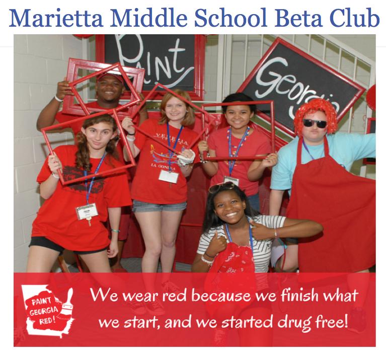 Mtta Middle School Beta Club