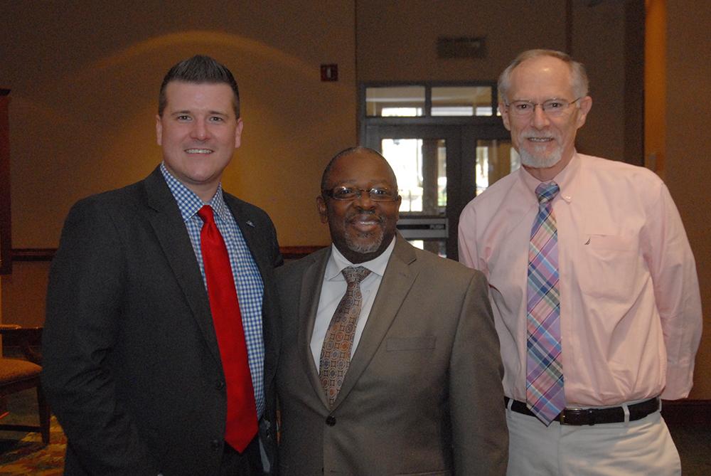 Presenters Zac Talbott and Ed Johnson with Von_DSC_0337